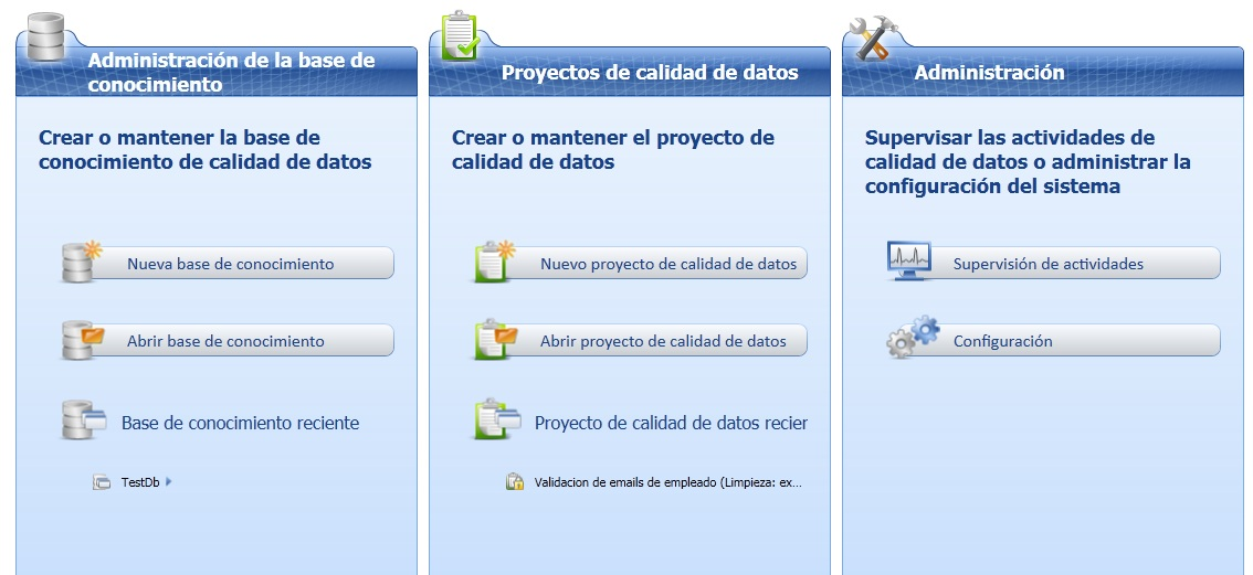Microsoft Data Quality Cliente