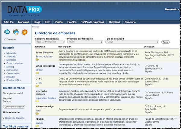 Vulka, nuevo directorio on-line de empresas - MuyPymes