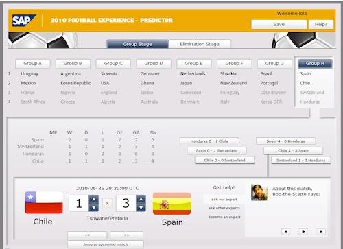SAP y el fútbol